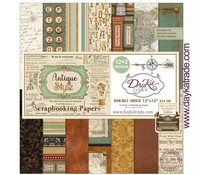 DayKa Trade Antique Style 12x12 Inch Paper Pack (SCP-3031)