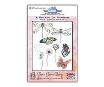 The Card Hut Garden Splash Clear Stamps (SSB003)