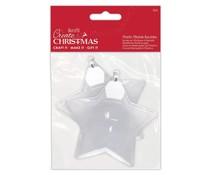 Papermania Plastic Fillable Baubles (2pcs) (PMA 105980)