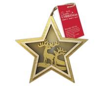 Papermania Create Christmas Wooden LED 2 Stars (PMA 105990)