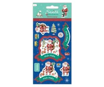 Papermania Santa and Friends Mini Decoupage Wishes (PMA 169963)