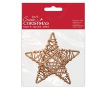Papermania Create Christmas Rattan Star 100mm (PMA 174463)