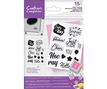 Crafter's Companion Enjoy Your Day Clear Stamps (CC-CA-ST-EYD)