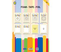 JEJE Produkt 3D Foam Tape & Foil Set (3.3099)
