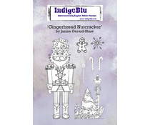 IndigoBlu Gingerbread Nutcracker A6 Rubber Stamps (IND0674)