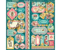 Graphic 45 Ephemera Queen Stickers (4502107)