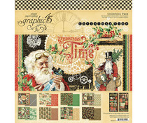 Graphic 45 Christmas Time 12x12 Inch Collection Pack (4502119)
