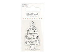 Simply Creative Christmas Tree Clear Stamp (SCSTP034X20)