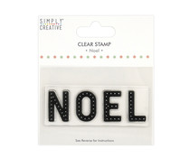 Simply Creative Noel Large Clear Stamps (SCSTP037X20)