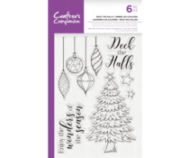 Crafter's Companion Deck the Halls Clear Stamps (CC-STP-DECK)