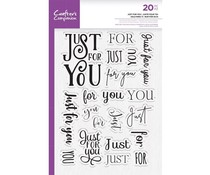 Crafter's Companion Just For You Clear Stamps (CC-STP-JFYOU)