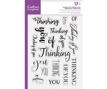 Crafter's Companion Thinking of You Clear Stamps (CC-STP-THOYO)