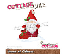 Scrapping Cottage Gnome with Chimney (CC-804)