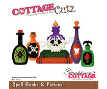 Scrapping Cottage Spell Books & Potions (CC-814)