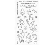 My Favorite Things Joyous Holidays Clear Stamps (CS-503)
