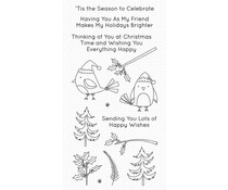 My Favorite Things Christmas Cardinals Clear Stamps (CS-505)