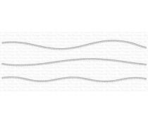 My Favorite Things Stitched Slimline Snow Drifts Die-namics (MFT-1806)