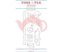Time For Tea Swimming By To Say Hi Dies (T4T/130/Swi/Die)