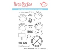 Time For Tea Hooray Hamster Clear Stamps (T4T/292/Hoo/Cle)