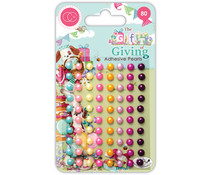 Craft Consortium The Gift of Giving Adhesive Pearls (CCAPRL004)