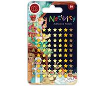 Craft Consortium Nativity Adhesive Pearl Stars (CCAPRL005)