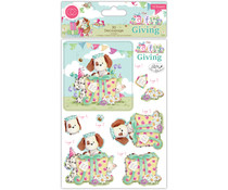 Craft Consortium The Gift of Giving 3D Decoupage (CCDPAK004)