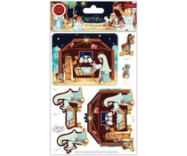 Craft Consortium Nativity 3D Decoupage (CCDPAK005)