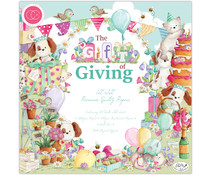 Craft Consortium The Gift of Giving 12x12 Inch Paper Pad (CCPPAD019)