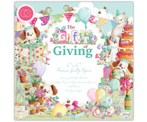 Craft Consortium The Gift of Giving 6x6 Inch Paper Pad (CCPPAD019B)