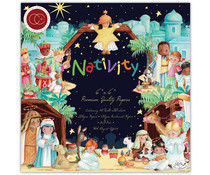 Craft Consortium Nativity 6x6 Inch Paper Pad (CCPPAD021B)