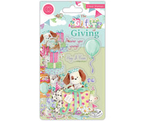 Craft Consortium The Gift of Giving Clear Stamps Party Time (CCSTMP038)