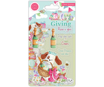 Craft Consortium The Gift of Giving Clear Stamps Pop the Cork (CCSTMP042)