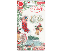 Craft Consortium Noel Clear Stamps Festivity (CCSTMP045)