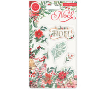 Craft Consortium Noel Clear Stamps Flora (CCSTMP046)