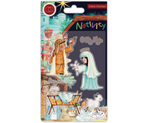 Craft Consortium Nativity Clear Stamps Nativity (CCSTMP047)