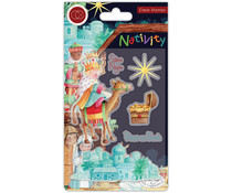 Craft Consortium Nativity Clear Stamps Bethlehem (CCSTMP049)