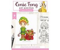 Crafter's Companion Santa's Little Helper Clear Stamps (CF-STP-SANLH)