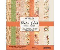 Reprint Shades of Fall Collection 12x12 Inch Paper Pack (CRP024)