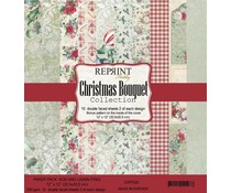 Reprint Christmas Bouquet Collection 12x12 Inch Paper Pack (CRP026)