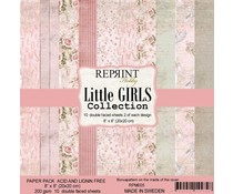 Reprint Little Girls Collection 8x8 Inch Paper Pack (RPM005)