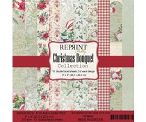 Reprint Christmas Bouquet Collection 8x8 Inch Paper Pack (RPM008)