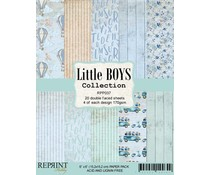 Reprint Little Boys Collection 6x6 Inch Paper Pack (RPP037)