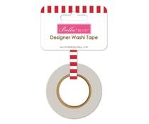Bella BLVD Red Stripe Washi Tape (BB2040)