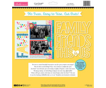 Bella BLVD Besties Family & Friends 12x12 Inch Cut Outs (BB2368)