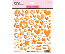 Bella BLVD Orange Trinkets Puffy Stickers (BB2289)