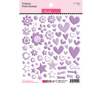 Bella BLVD Plum Trinkets Puffy Stickers (BB2294)