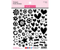 Bella BLVD Black Trinkets Puffy Stickers (BB2295)