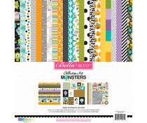 Bella BLVD Monsters & Friends 12x12 Inch Collection Kit (BB2336)