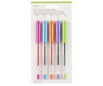 Cricut Extra Fine Point Pen Set (5pcs) (2007645)