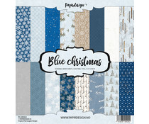 Papirdesign Blue Christmas 12x12 Inch Paper Pack (PD 2000424)